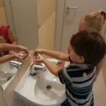Nauka mycia rąk w p