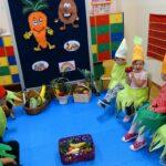 Dzieci z wielką radością na nowo odkrywały swoje zmysły poprzez zabawy