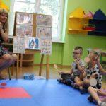Dzieci biorące udział w akcji Bezpieczny Przedszkolak
