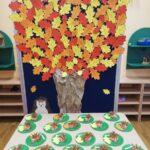 jesień zagościła w przedszkolu
