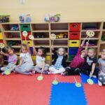W piątkowy dzień w naszym przedszkolu było bardzo radośnie i wesoło