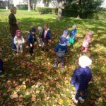 Naszym przedszkolakom żadna pogoda nie przeszkadza jednak dobrze się bawić