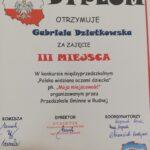 Dyplom Gabrieli