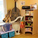 Kącik muzyczny w sali Biedronek