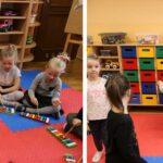 Zabawy muzyczne w sali grupy Biedronek