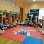 Dzieci z grupy Biedronki