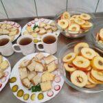 Na zdjęciu posiłki przygotowane przez panie kucharki