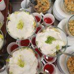Na zdjęciu potrawy przygotowane dla przedszkolaków