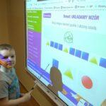 Zabawy matematyczne przy tablicy interaktywnej