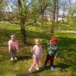 Obserwowanie przyrody w parku