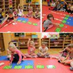 Zabawy matematyczne dzieci z grupy Biedronek