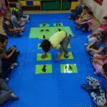 ćwiczenia przedszkolaków