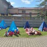 namioty i dzieci