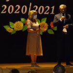 Dyrektor Przedszkola oraz Wójt Gminy Grebocice podczas przemowy