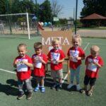 Dzieci z grupy Krasnoludki z medalami