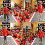 Dzieci grają w klasy