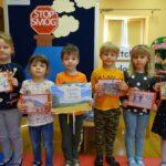 Dzieci z hasłem - Strefa wolna od smogu